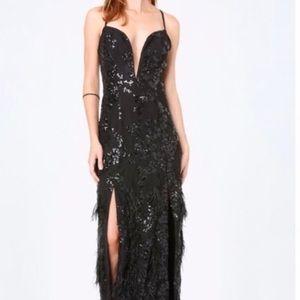 Bebe full length gown